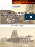 Alternate Perceptions of India Arguing for a Counter Narrative