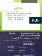 HTML  5 y CSS3