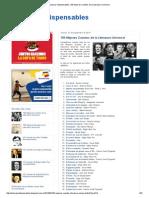 Lecturas Indispensables_ 100 Mejores Cuentos de La Literatura Universal