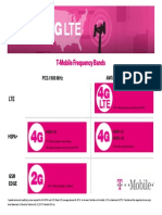 T-Mobile Frequency Bands Fact Sheet