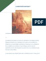 Como practicar la meditación cristiana.pdf