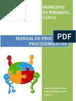 Manual Procesos y Procedimientos 2013.PDF Salud