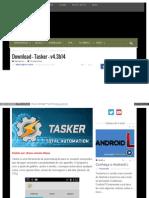 Eusouandroid Com Download Tasker v4 3b14