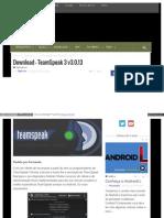 Eusouandroid Com Download Teamspeak 3 v3!0!13