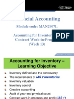 Lecture13 Accounting for Inventory&ContractWIP 12 13 Bb