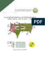 Pdot Tarija 2006 - 2025