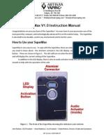SuperMax Manual V1.0