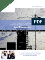 Brochure Taller de Productividad Mayo 2014[1]