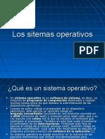 Los Sistemas Operativos .Power Point