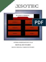 Modulo Principal Emision Tickets MAX300k