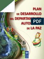 Plan Desarrollo La Paz Gobernacion