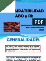 1.1. Isoinmuizacion Rh -Abo