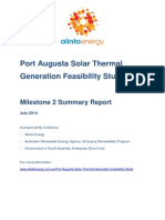 Alinta Energy Port Augusta Solar Thermal Feasibility report