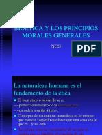 Bioética y Los Principios Morales Generales