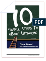10 Steps to E-book