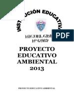 Proyecto Educativo Ambiental 2013