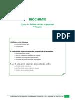 Cours 4 Acides Amines Et Peptides