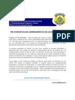 PRF intercepta dois carregamentos de cocaína para  o RJ