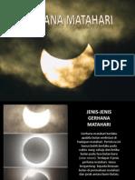 Sains Tahun 6- Gerhana Matahari