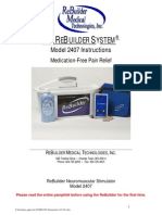 Www.rebuildermedical.ca Manuals 2407 Instructions Wet