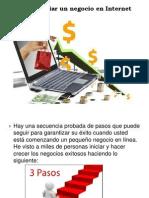 Cómo Iniciar Un Negocio en Internet Con Juan Factor