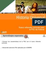 Clase 7 Nuevo Referente Curricular Para La PSU de Historia