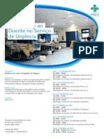 09 Curso de Abordagem ao Doente no Serviço de Urgência
