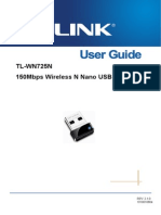 TL-WN725N User Guide