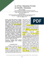 (R) Production of Fine Aluminum Powder from Metallic Aluminum.pdf