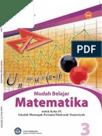 Mudah Belajar Matematika SMP Kelas 9
