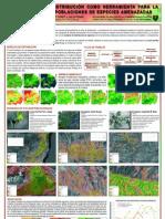 Modelos de distribución como herramienta para la localización de poblaciones de especies amenazadas (PÓSTER)