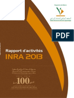 Rapport d'Activites INRA (Maroc) 2013 _fr