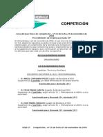 COMPETICIÓN Acta Jornada 10ª