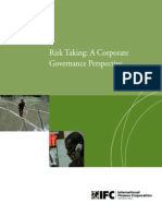 Risk Taking Governance Prespective