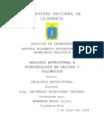 Geología Estructural e Hidrogeología en Calizas y Volcánicos