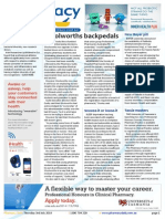 Pharmacy Daily for Thu 03 Jul 2014 - Woolworths backpedals, MA submits 18th Code, New Bayer pill, Travel Specials and much more