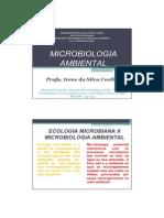 Microbiologia Ambiental 2012-I