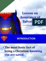 Lesson on Assurance Salvn