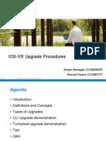 IOS XR Upgrade