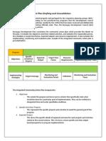 Barangay Development Plan Sample