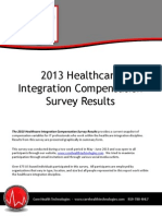 2013 Healthcare Integration Compensation Survey Results Jun2013
