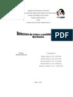 Detección de Fallas y Problemas Del Hardware y Software 3er Trimestre