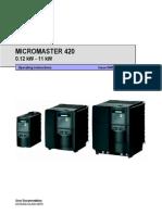 MM420 Operating Instruction