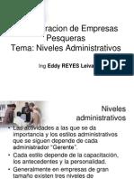 3 Niveles Administrativos a EDDY REYES LEIVA