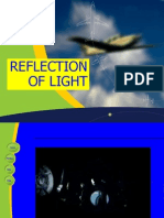reflection of light-