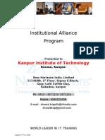 Institutional Alliance Program New Horizons