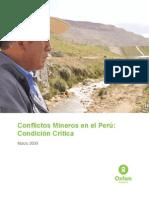Informe Mineria y Conflictos