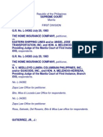115-Home Insurance Co vs Eastern Shipping Lines