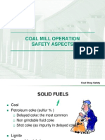 Coal Mill Safety