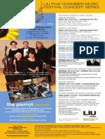 ConcertFlyer LIU PostChamberMusicFestival
